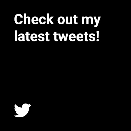 Keep up to date with latest web design news on my Twitter page.
